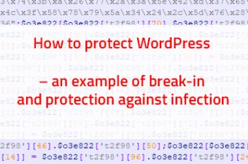 wordpress break-in analysis and protection